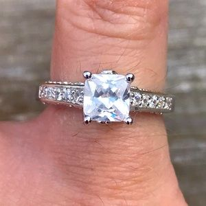 Size 5.75 engagement ring